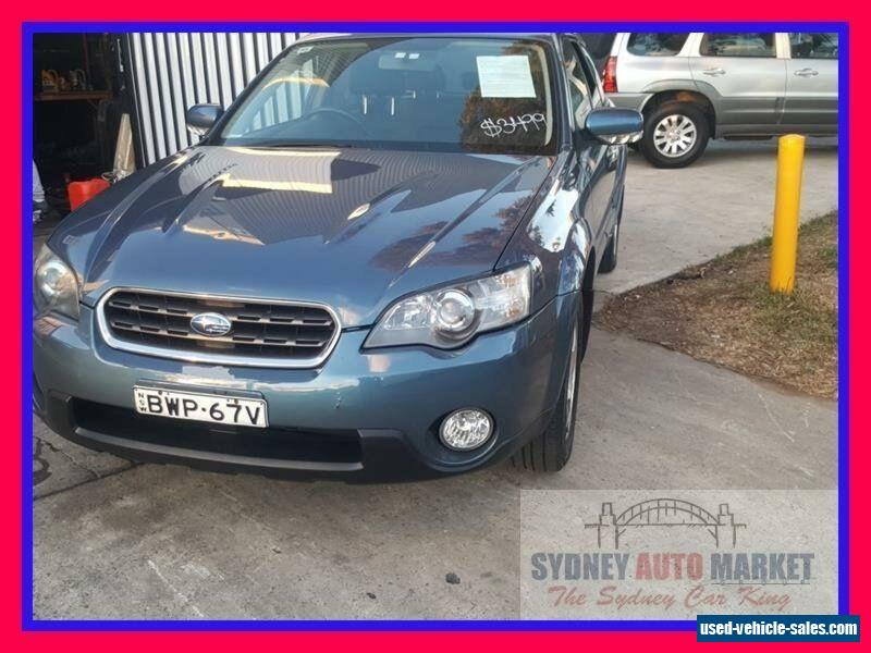 2005 subaru outback manual