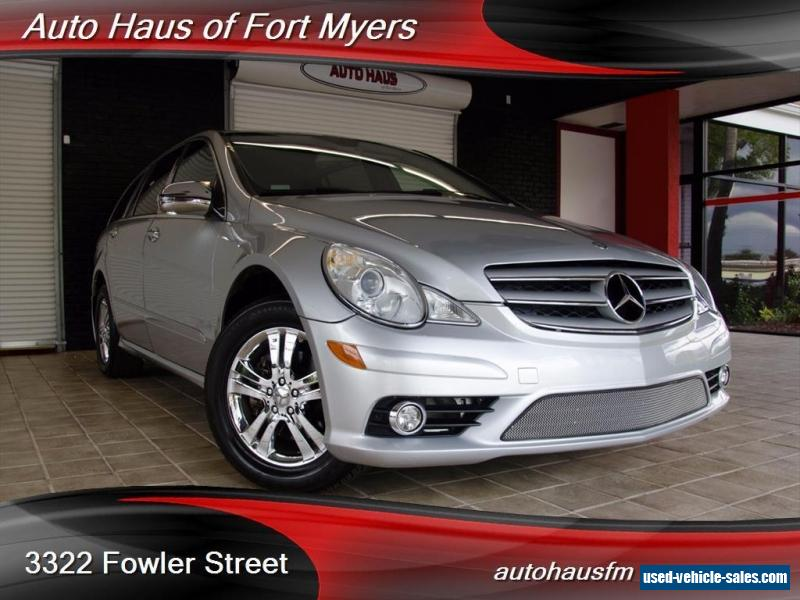 2008 mercedes benz r class for sale in canada. Black Bedroom Furniture Sets. Home Design Ideas