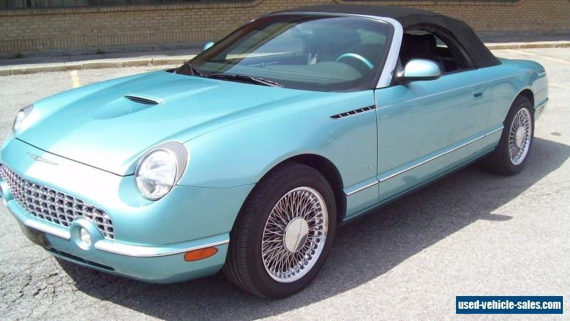 2002 ford thunderbird for sale in canada. Black Bedroom Furniture Sets. Home Design Ideas