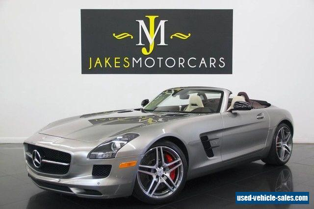 2013 mercedes benz sls amg for sale in canada for Mercedes benz sls amg for sale