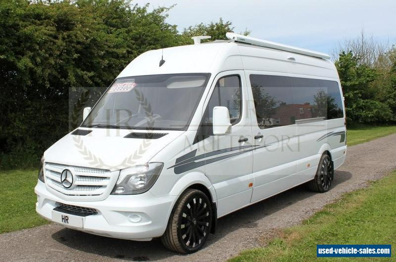 Mercedes benz sprinter for sale in the united kingdom for Mercedes benz sprinter conversion van for sale