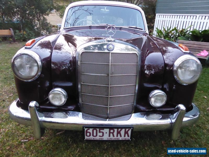 Mercedes Benz 220s Ponton 1959 For Sale In Australia