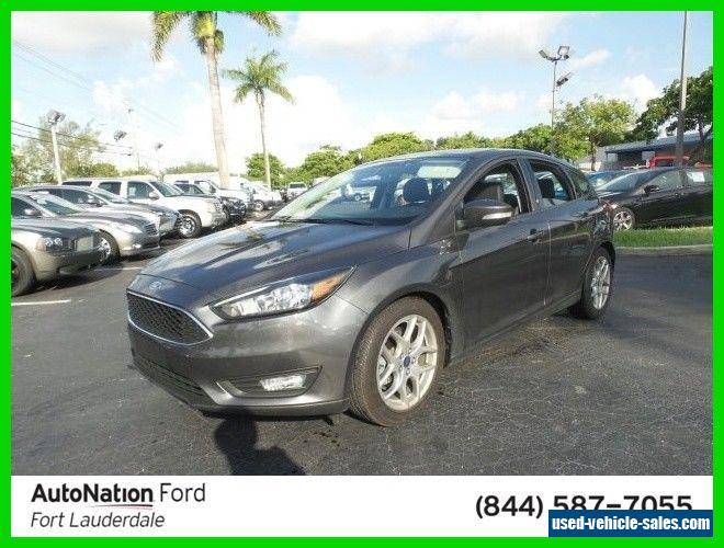 2015 ford focus for sale in the united states. Black Bedroom Furniture Sets. Home Design Ideas