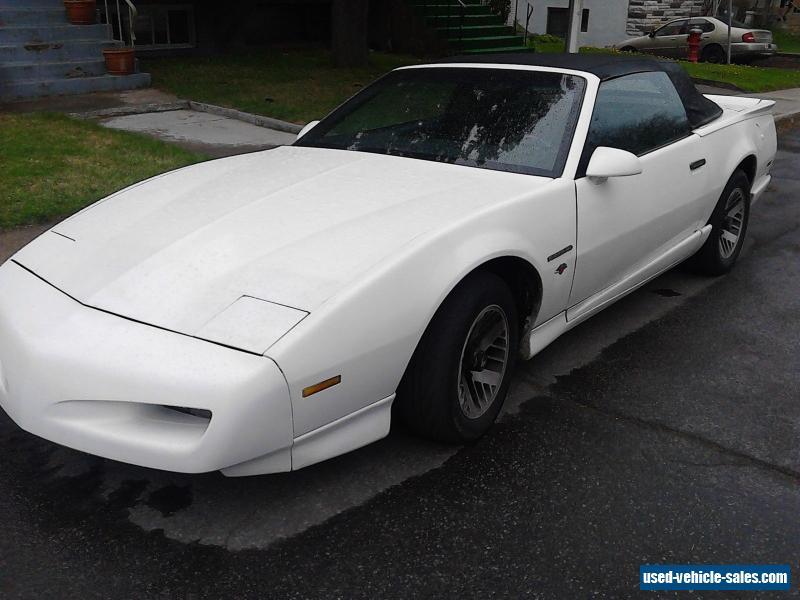 1991 Pontiac Firebird For Sale In Canada