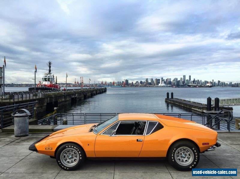Ford Pantera For Sale >> 1973 De Tomaso Pantera For Sale In Canada