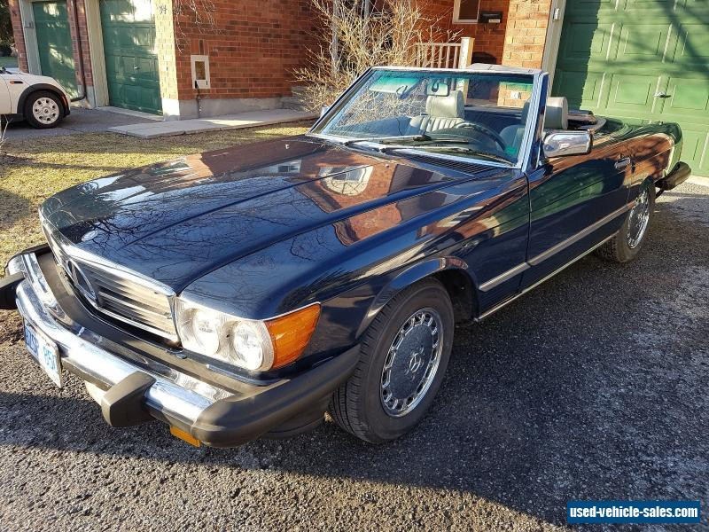 1986 mercedes benz sl class for sale in canada for Mercedes benz for sale in canada