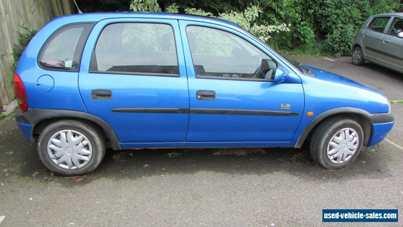 1998 vauxhall corsa breeze hi torq for sale in the united kingdom. Black Bedroom Furniture Sets. Home Design Ideas