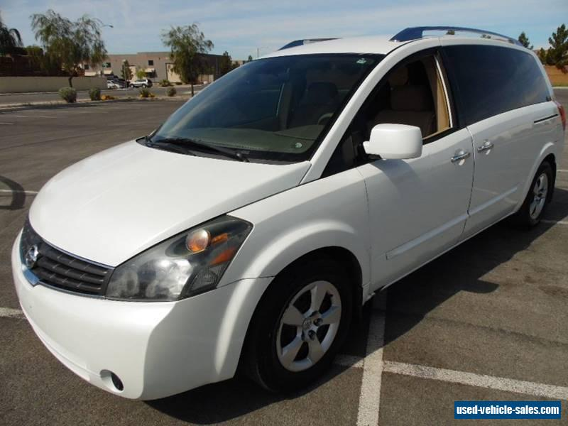 2007 nissan quest for sale in the united states. Black Bedroom Furniture Sets. Home Design Ideas