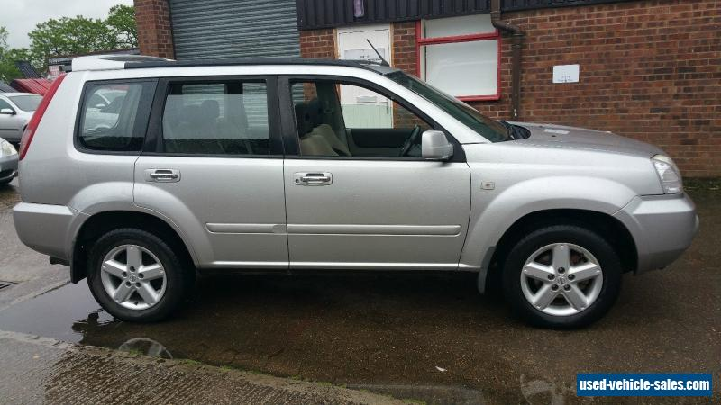 2004 nissan x trail sport dci for sale in the united kingdom. Black Bedroom Furniture Sets. Home Design Ideas