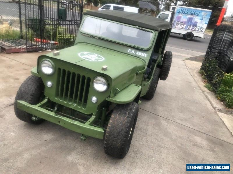for sale jeep pickup willys