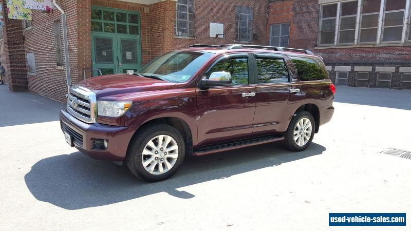 2008 toyota sequoia for sale in canada. Black Bedroom Furniture Sets. Home Design Ideas