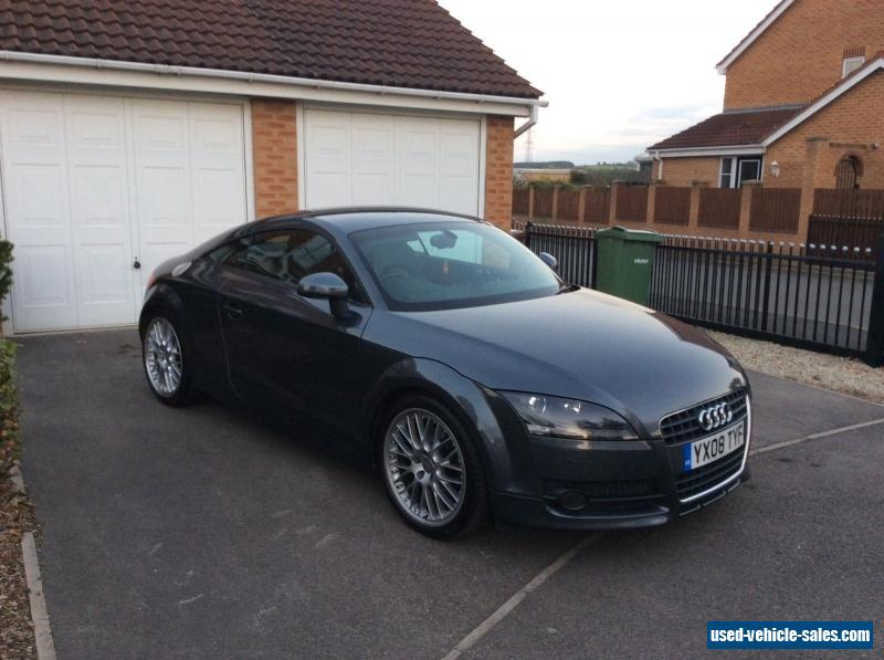 2008 audi tt for sale in the united kingdom. Black Bedroom Furniture Sets. Home Design Ideas