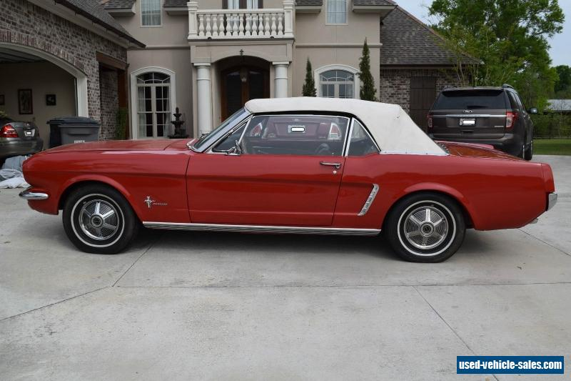 1965 ford mustang for sale in the united states. Cars Review. Best American Auto & Cars Review
