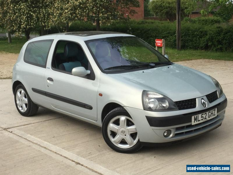 2002 renault clio extreme 16v for sale in the united kingdom. Black Bedroom Furniture Sets. Home Design Ideas