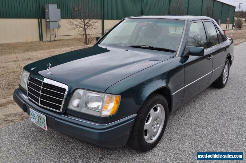 1995 mercedes benz e class for sale in the united states for Used mercedes benz a class for sale