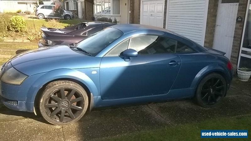 2002 audi tt quattro 180 bhp for sale in the united kingdom. Black Bedroom Furniture Sets. Home Design Ideas