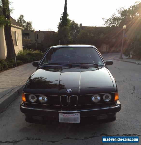1989 Bmw 6-Series For Sale In The United States