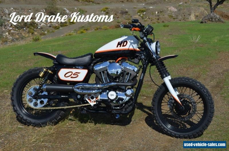 harley davidson sportster scrambler  quot sportracker quot  by lord drake kustoms for sale in the united harley davidson job time code manual 2017 03 Harley Davidson Torque Specs