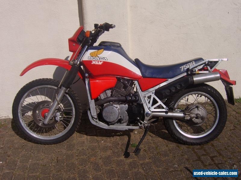 honda xlv 750 motorcycle for sale in the united kingdom. Black Bedroom Furniture Sets. Home Design Ideas