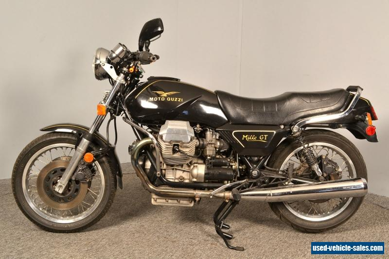 1989 moto guzzi mille gt for sale in canada. Black Bedroom Furniture Sets. Home Design Ideas