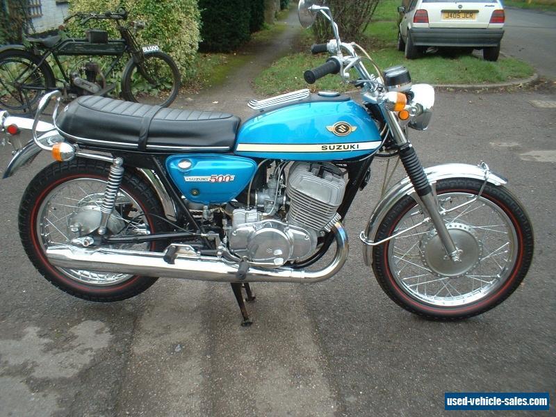 1970 Suzuki T500 Titan Mk3 For Sale In The United Kingdom