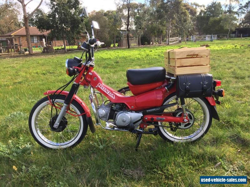 honda ct 110 the 39 legendary postie bike 39 excellent condition for its age for sale in australia. Black Bedroom Furniture Sets. Home Design Ideas