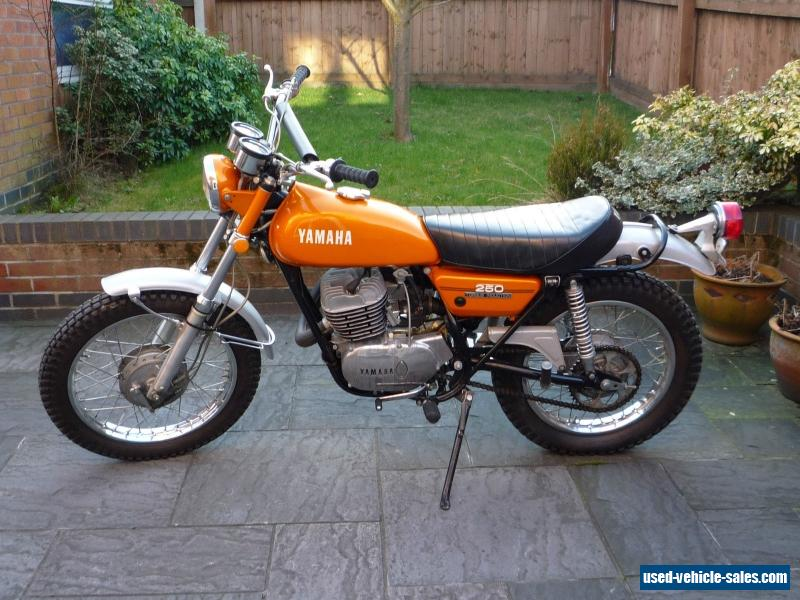 1972 yamaha dt250 for sale in the united kingdom