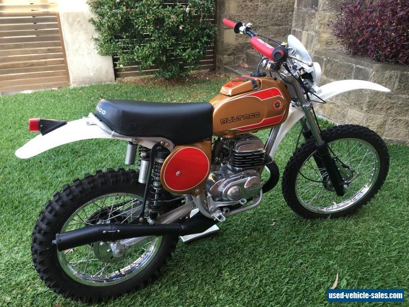 1977 Bultaco Frontera - Gold Medal 250cc