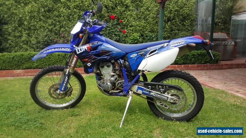 Yamaha wrf450f for sale in australia for Yamaha 450 for sale