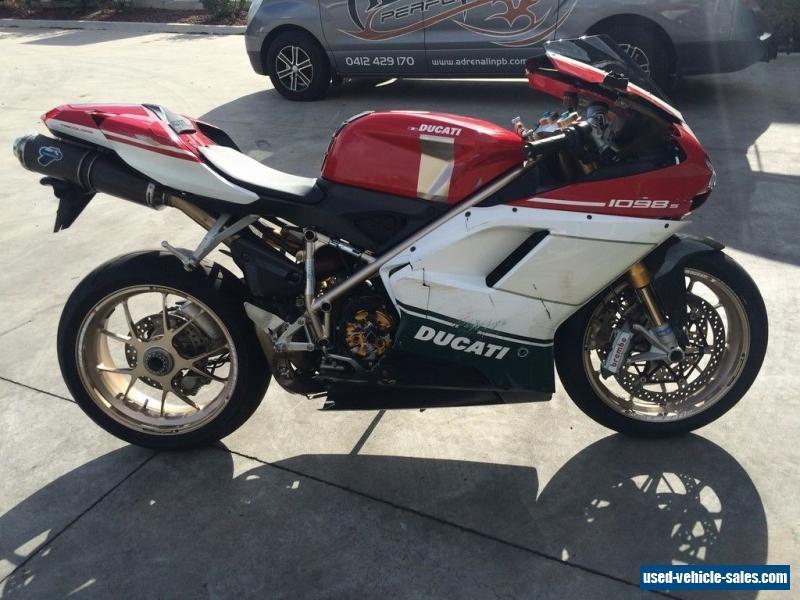 Ducati 1098S TRI COLOUR for Sale in Australia