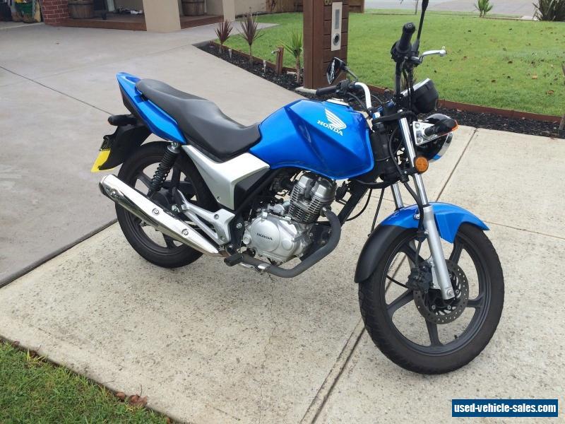 Honda cb125 for sale in australia