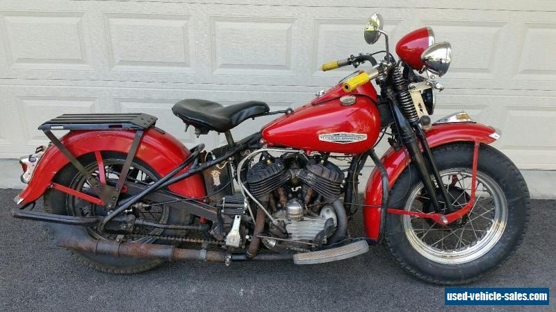 1946 harley davidson wl flathead for sale in canada. Black Bedroom Furniture Sets. Home Design Ideas