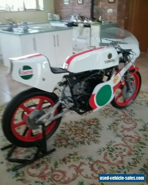 Yamaha tz250r classic race bike racing motorcycle ex for Yamaha rally bike for sale