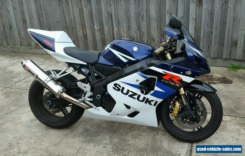 suzuki gsxr 750 k4 2004 gsx r for sale in australia. Black Bedroom Furniture Sets. Home Design Ideas