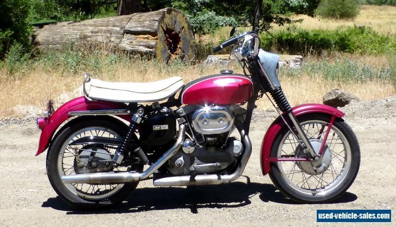 1968 Harley-davidson Sportster for Sale in Canada