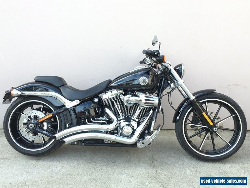 2014 harley davidson breakout with only 13 500kms 103ci custom softail fxsb for sale in australia. Black Bedroom Furniture Sets. Home Design Ideas