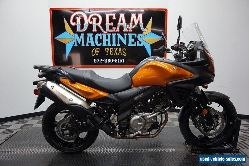 2012 suzuki v strom 650 abs for sale in canada. Black Bedroom Furniture Sets. Home Design Ideas
