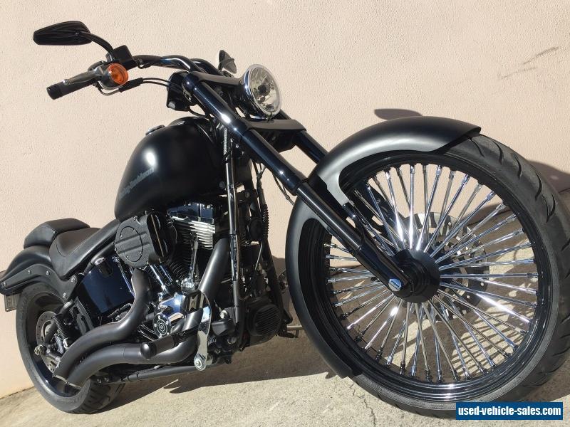 2012 Harley Davidson Custom 103ci Softail Night Train 23 Inch Front FXSTB  FXST