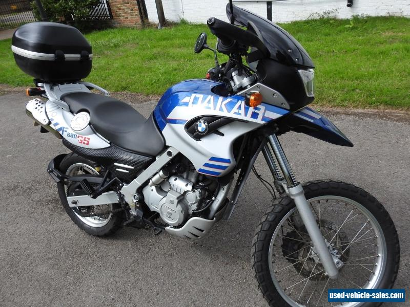 2006 bmw f650gs dakar for sale in the united kingdom. Black Bedroom Furniture Sets. Home Design Ideas
