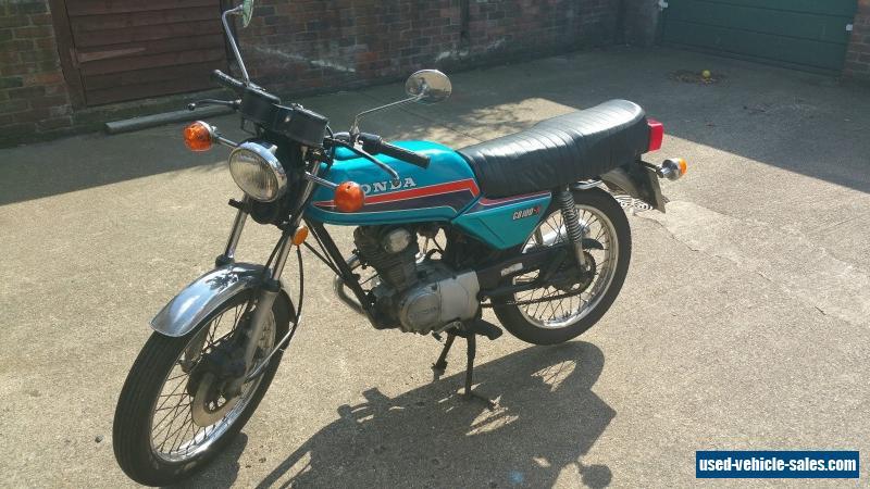1979 HONDA CB 100 N For Sale
