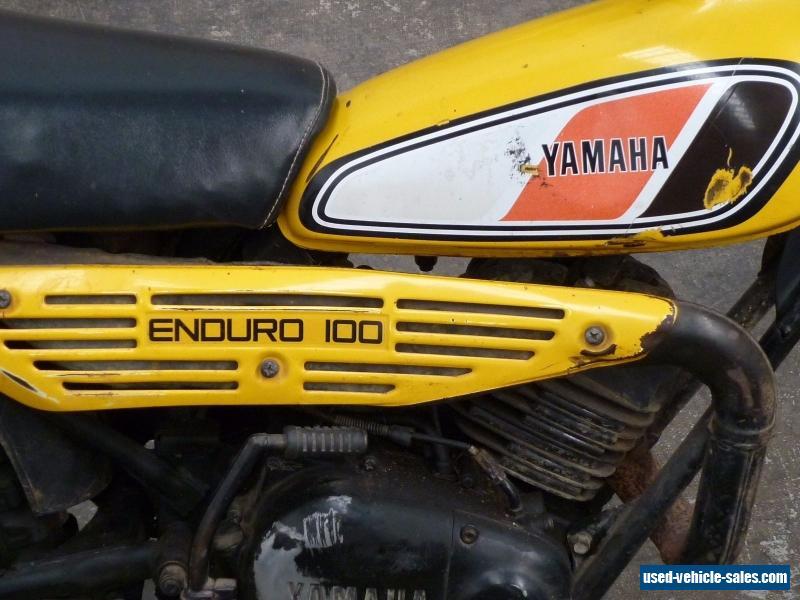 Retro Yamaha Motorcycle Adelaide