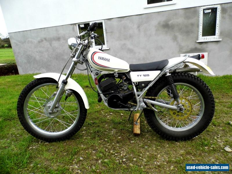 Yamaha Ty  Trials Motorcycle Parts