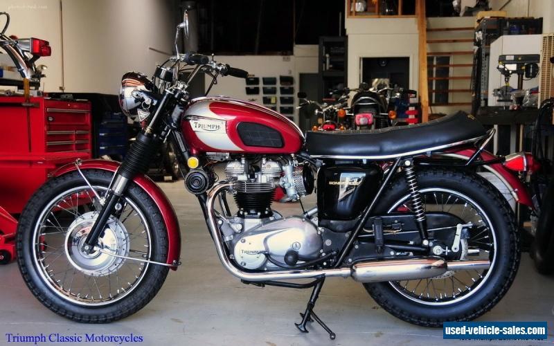 1970 Triumph Bonneville For Sale In Canada