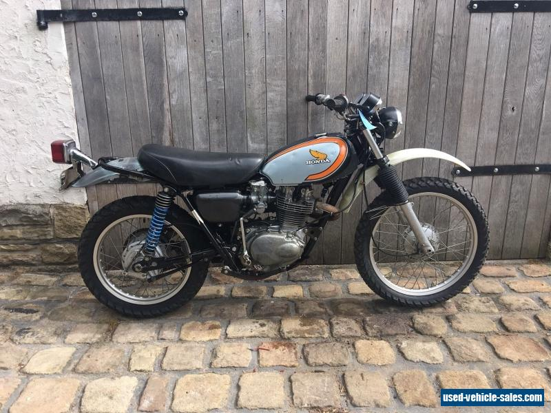 1973 honda xl250 for sale in the united kingdom. Black Bedroom Furniture Sets. Home Design Ideas