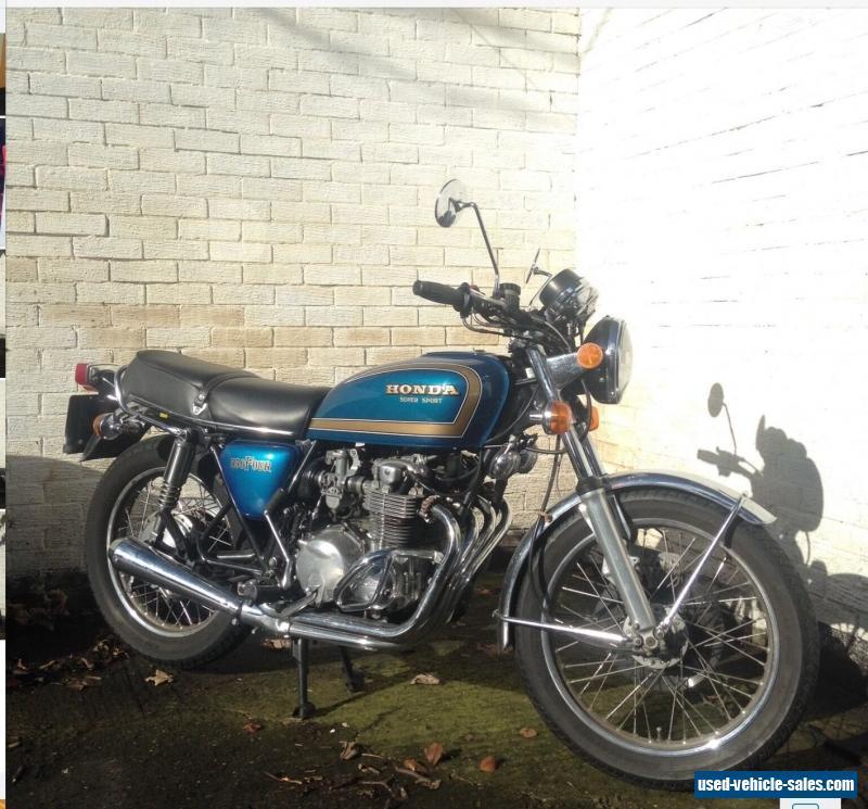 1979 Honda CB550 For Sale In The United Kingdom