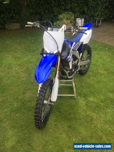 2015 yamaha yzf for sale in the united kingdom