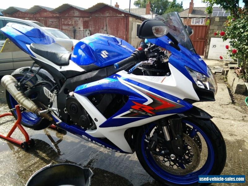 2009 suzuki gsxr 750 k8 for sale in the united kingdom. Black Bedroom Furniture Sets. Home Design Ideas