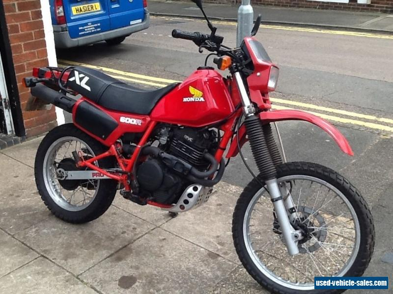1983 honda xl600r for sale in the united kingdom. Black Bedroom Furniture Sets. Home Design Ideas