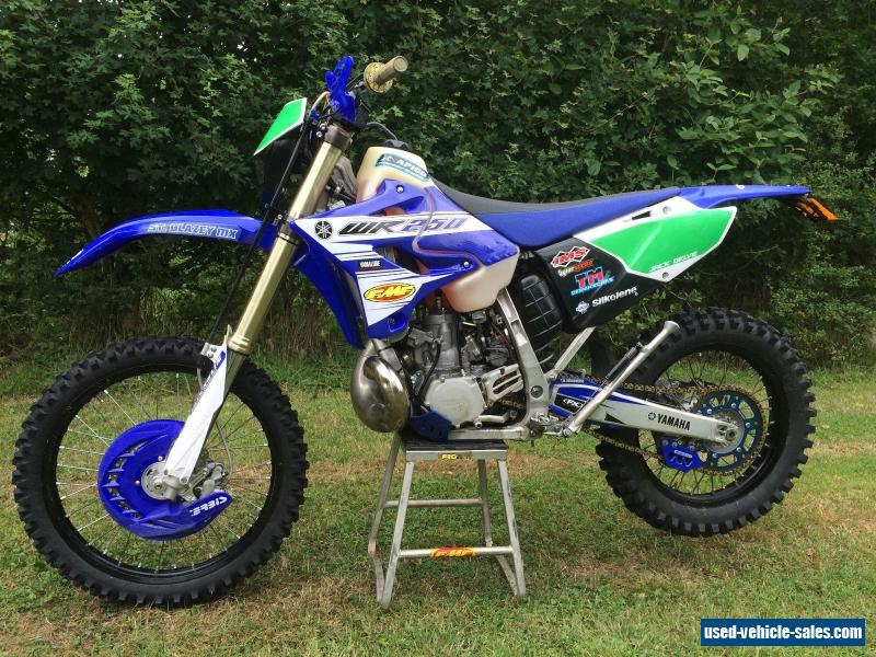 2016 yamaha wr250 for sale in the united kingdom