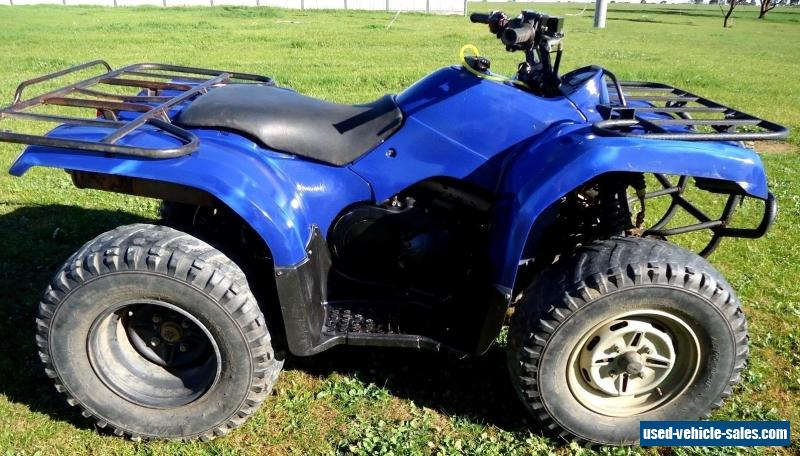 Yamaha grizzly 350 for sale in australia for Yamaha atv for sale used